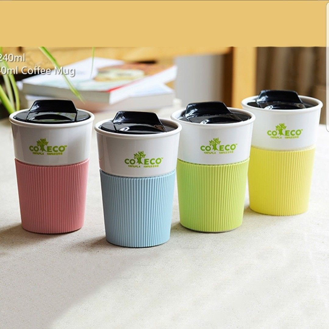 Reusable Travel Go Coffee Cup Coffee cups, Mugs, To go