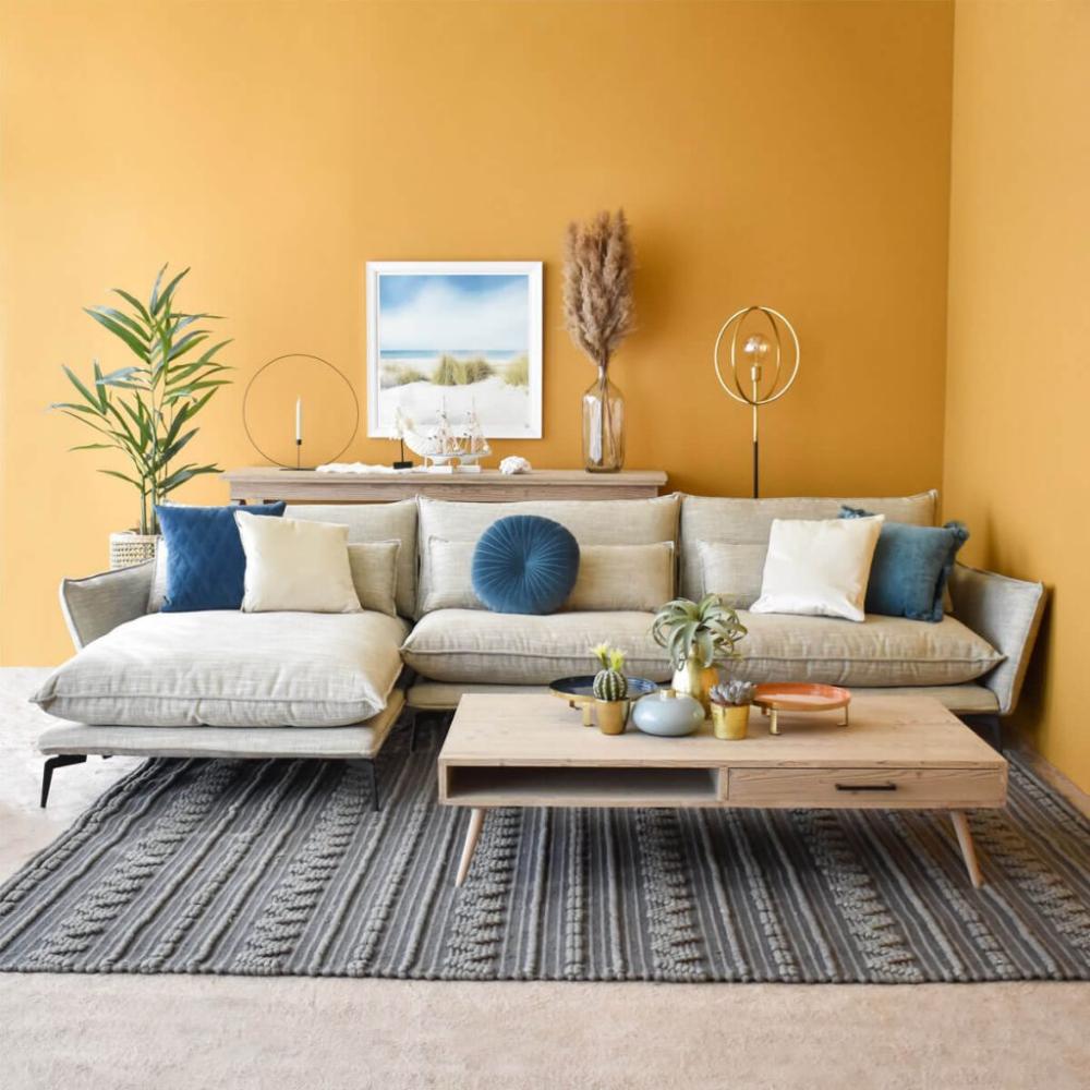 L Shaped Fabric Lounger Sectional Corner Sofa Furniture Dubai Abudhabi Uae In 2020 Sofa Furniture Modern Sofa Sectional Corner Sofa