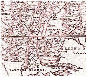 ภาพ แผนที่ประเทศไทย อดีต-ปัจจุบัน   ครูทองคำ วิรัตน์