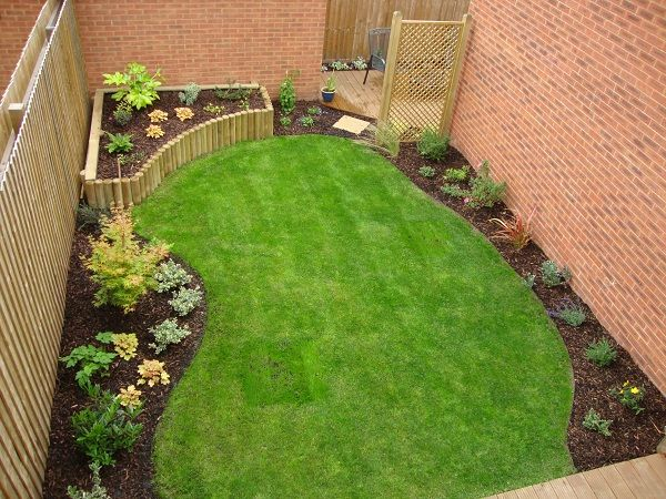 Layout With Images Rectangle Garden Design Garden