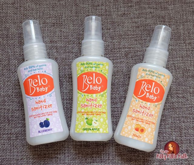 Product Review Belo Baby Hand Sanitizer Hand Sanitizer Healthy