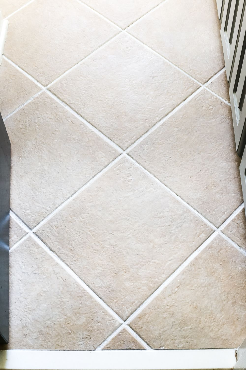 Painted Tile Grout Refresh | Tile grout, Painted tiles and Grout