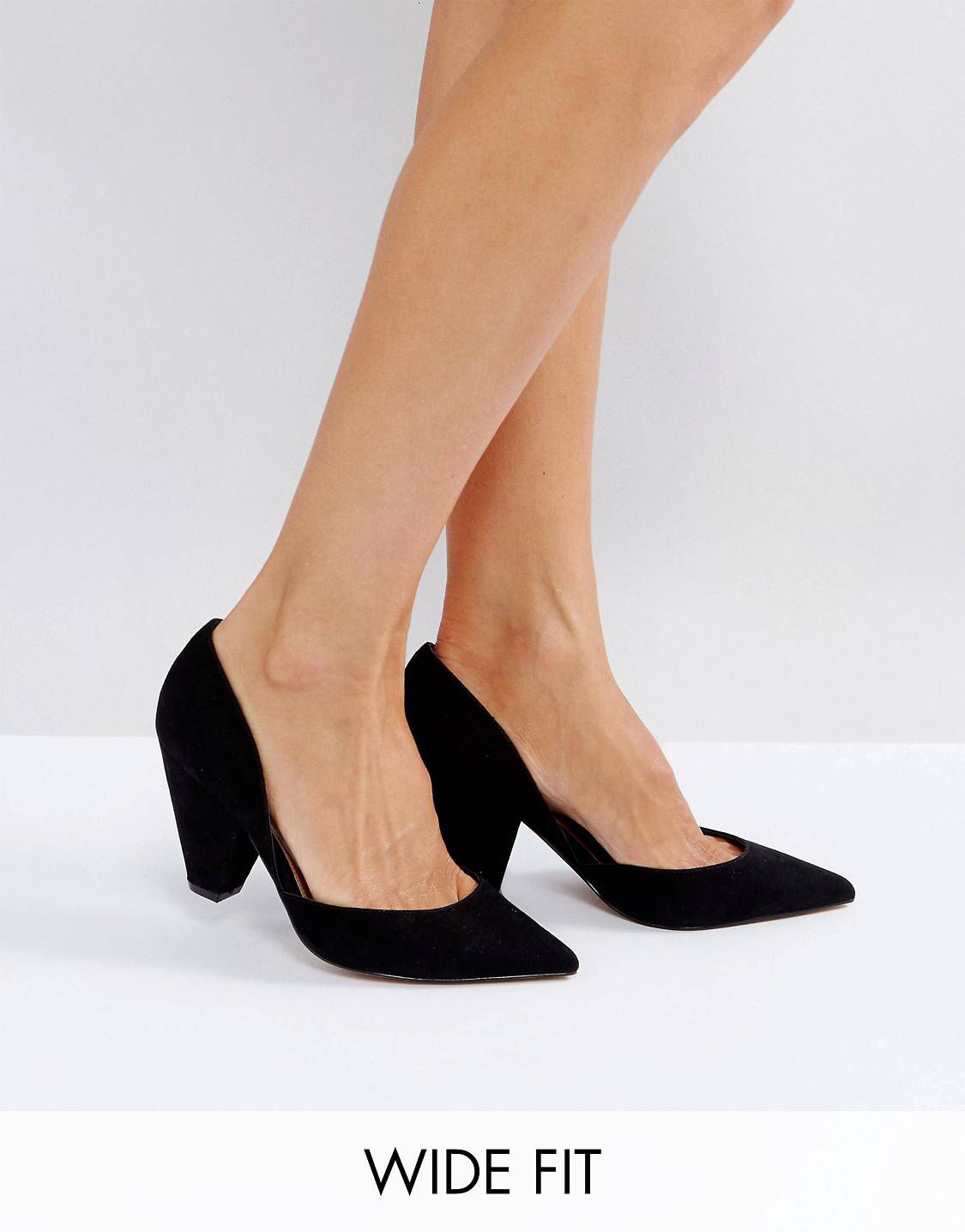 Wide fit shoes, Heels