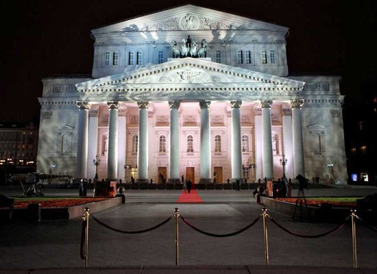 The Bolshoi Theater Moscow – Russia