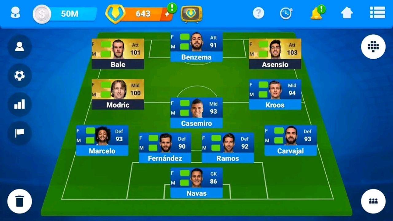 تحميل المدرب الأفضل Osm Mod Apk مهكر Online Soccer Manager 2020 للا ندرويد اخر إصدارv3 21 4 0 In 2020 Restaurant Game Online Multiplayer Games Soccer