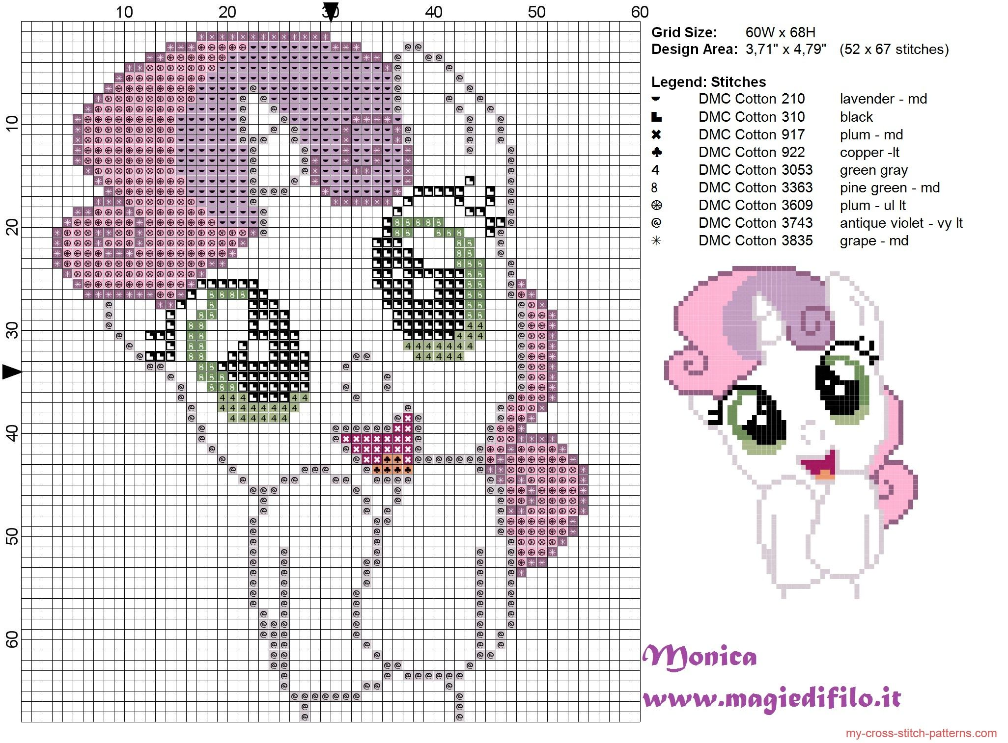 Cute Sweetie Belle (my little pony) cross stitch pattern | Punto de ...