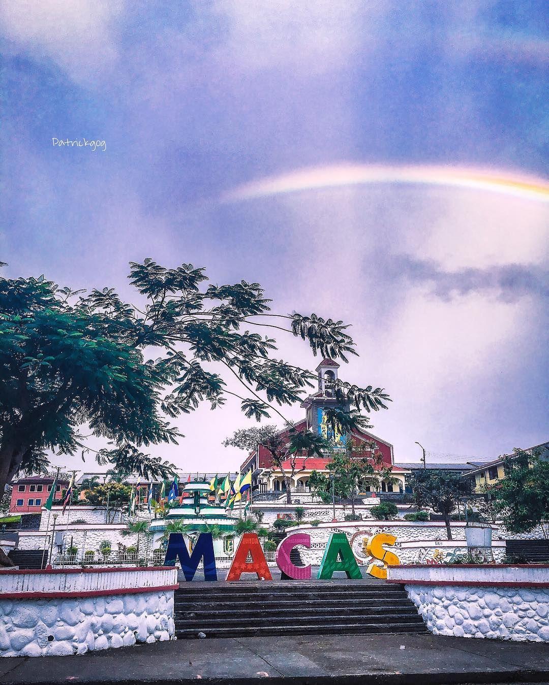 Arco Iris en #Macas #Ecuador #AllYouNeedIsEcuador #iphoneonly #rainbow