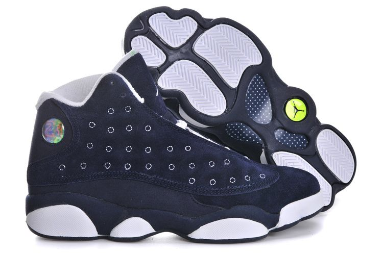 Air Jordan 13 Retro 2013 Anti Fur Navy Blue White Mens Shoes, cheap Jordan  If you want to look Air Jordan 13 Retro 2013 Anti Fur Navy Blue White Mens  Shoes, ...
