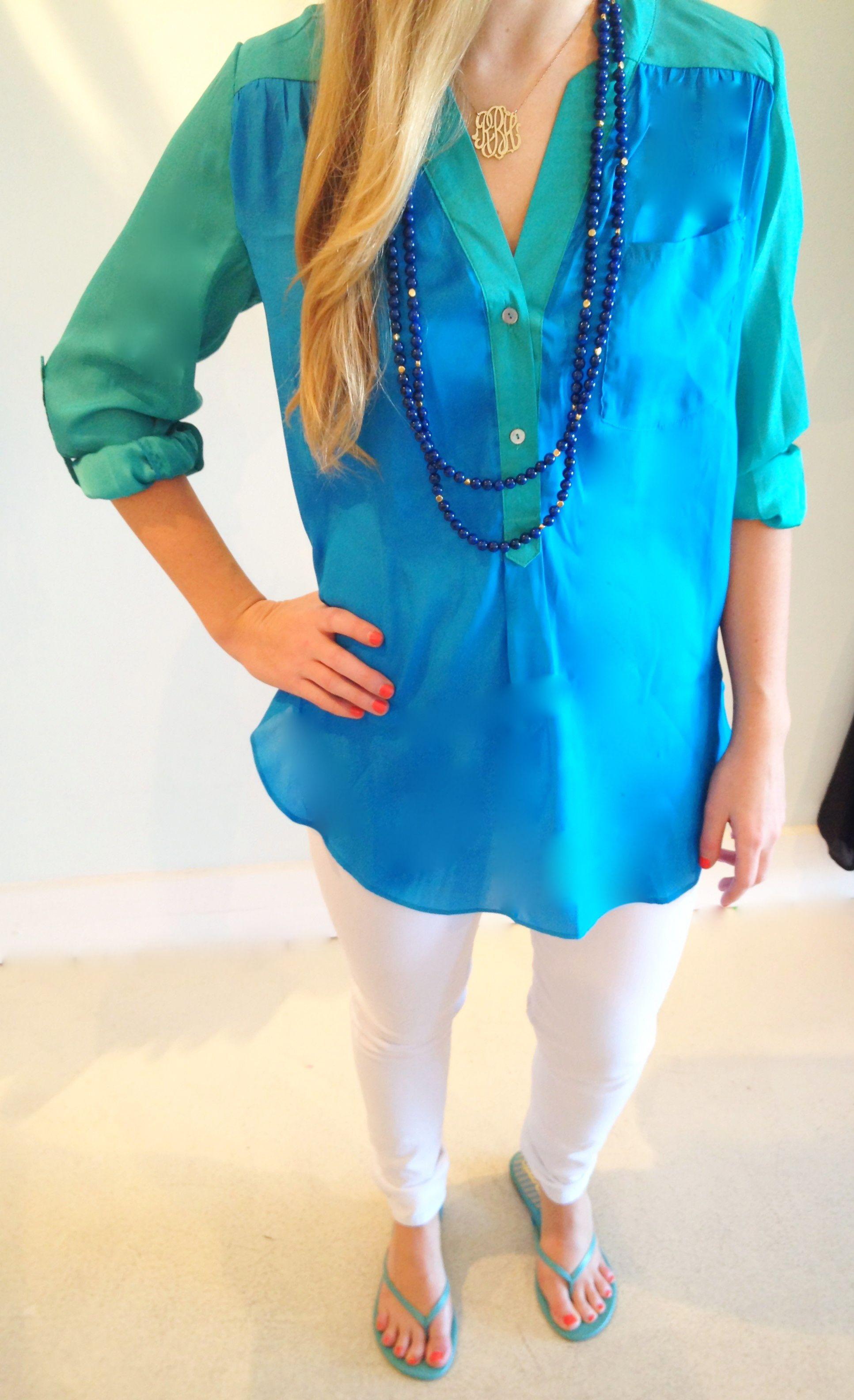 Color block tunic @ Love Boutique Baton Rouge, LA
