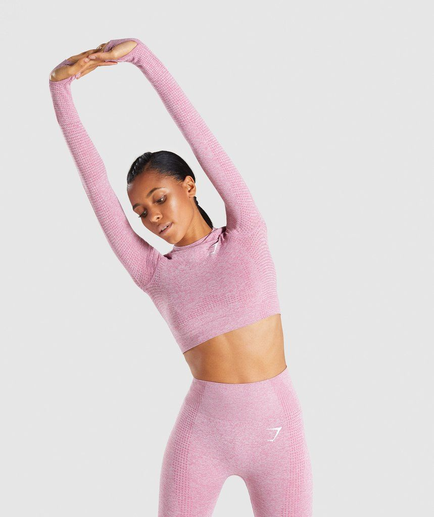 c3aab331975 Our Vital seamless long sleeve crop top is built to perform with  confidence. Take your workout to the next level & shop Vital now.