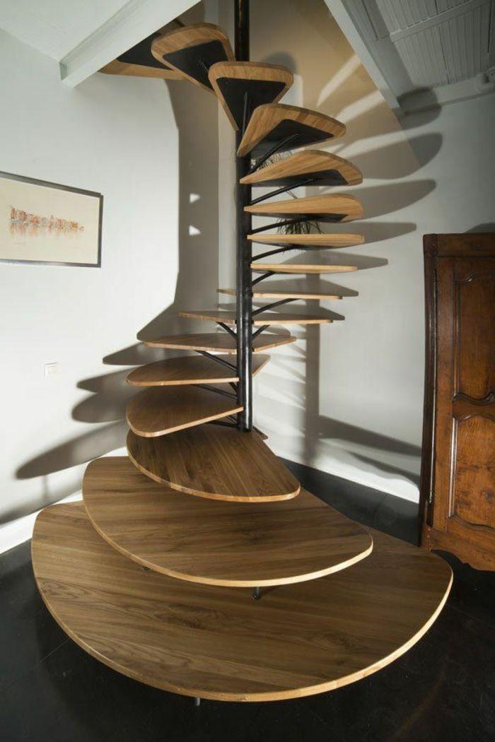 43 photospour fabriquer un escalier en bois sans efforts | salons