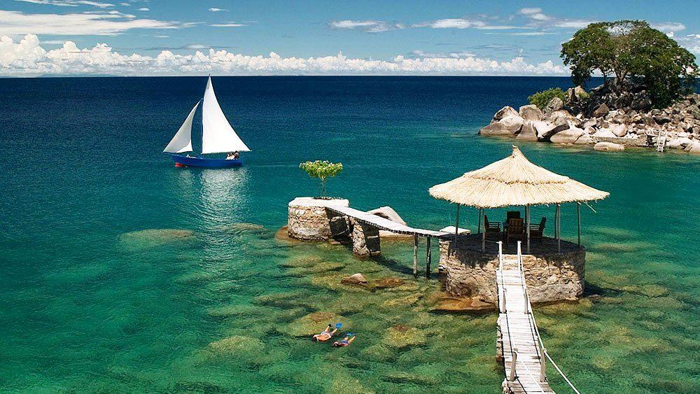 Image result for Lake Malawi, mozambique, Tanzania, Malawi