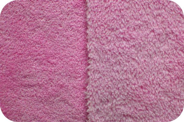 Cuddle Fleece Hot Pink