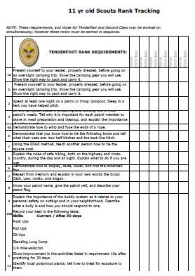 Printables Eagle Scout Requirements Worksheet year old and scouts on pinterest