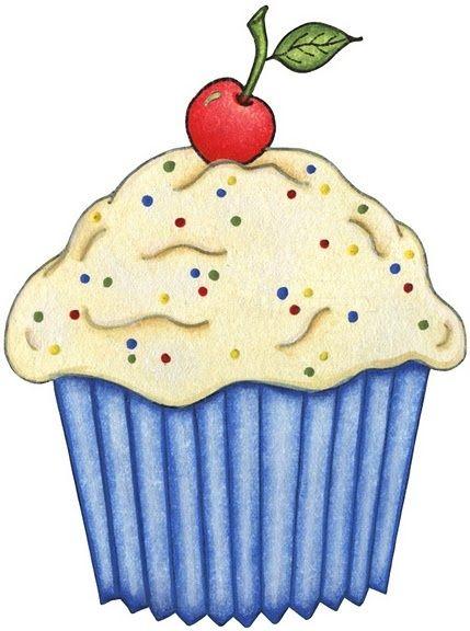 Cupcake Heaven Kreativ Illustration Bilder