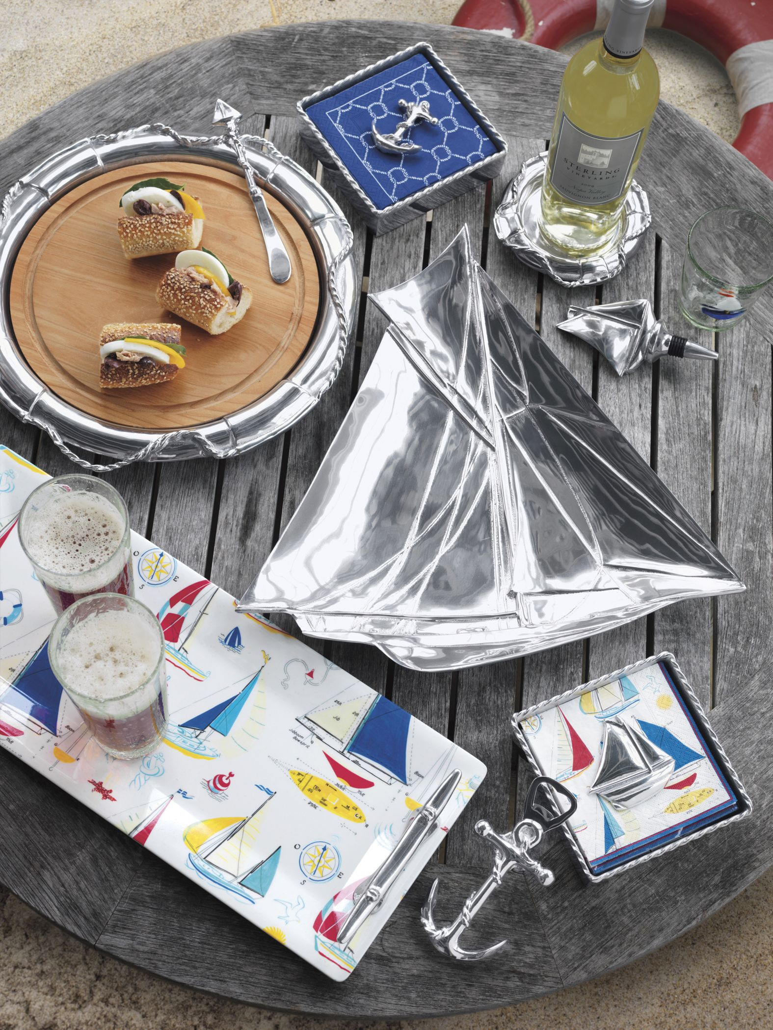Mariposa High Seas Collection Perfect For Summer Entertaining