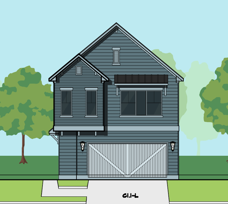 Two Story Home Plan E8180 C1 House Plans Affordable House Plans Two Story Homes