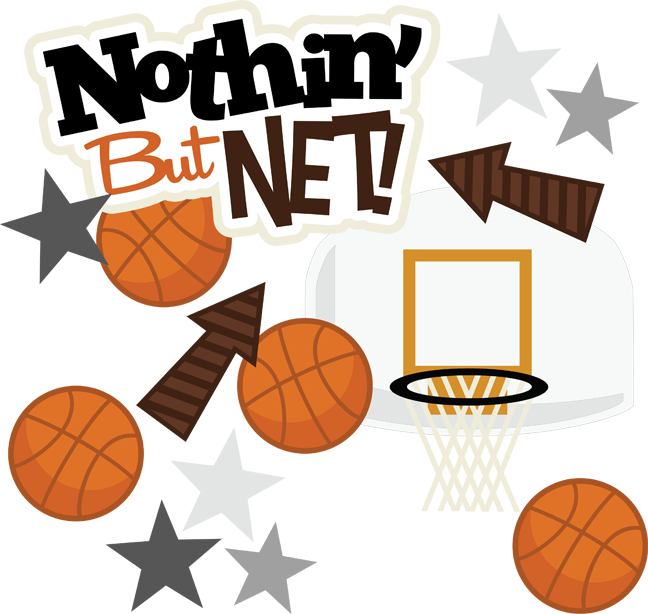 nothin but net cumple basket pinterest svg file cricut and rh pinterest com Scrapbook Frames Clip Art Family Clip Art Scrapbook