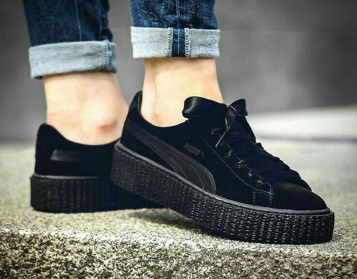 puma creepers girls