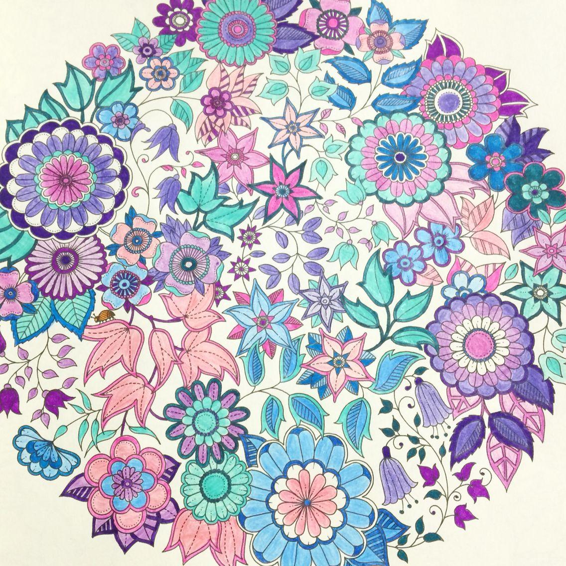The secret garden coloring book review - Jardim Secreto Johanna Basford Secret Garden Secret Garden Coloring Bookadult