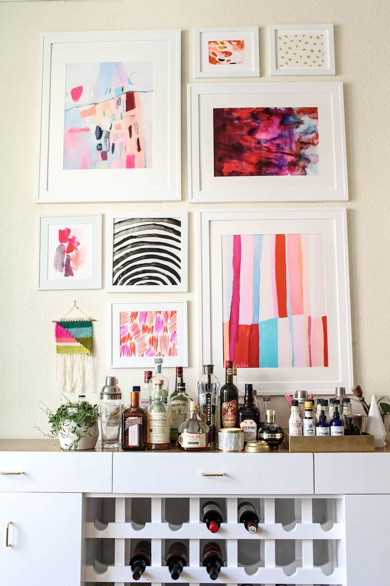 A Beautiful Mess | Elsie Larson's Dining Room Tour http://www.abeautifulmess.com/2015/04/home-tour-elsies-dining-room.html