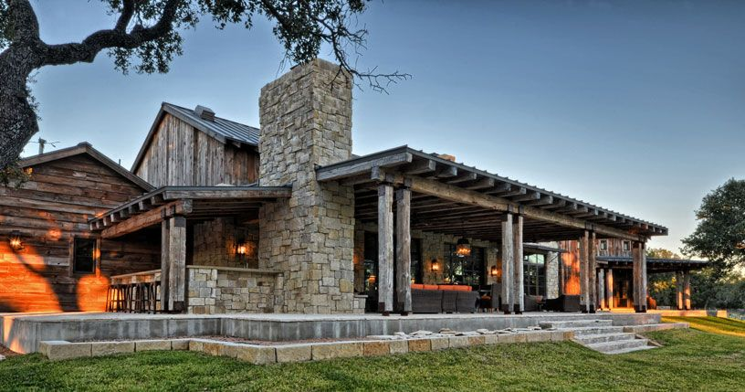 lovely texas ranch house plans with porches #8: view of porch