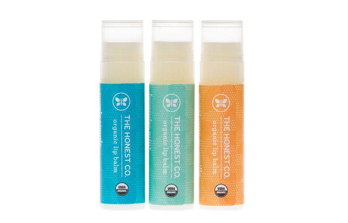 The Honest Co: organic lip balm trio