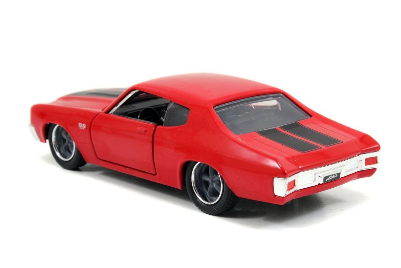 Jada 1 32 scale fast furious doms chevy chevelle ss red diecast car model
