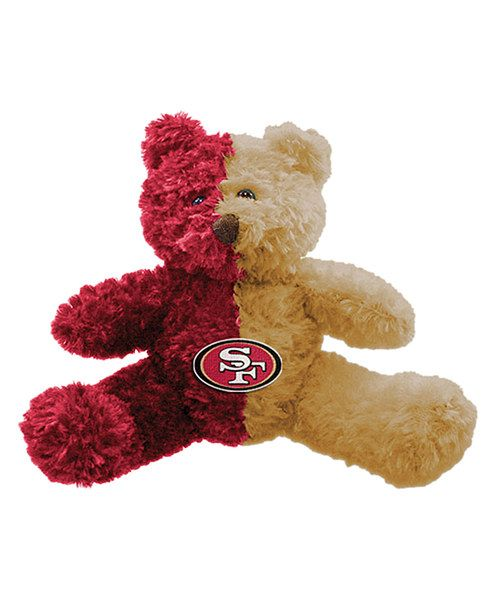 Take a look at the San Francisco 49ers Two-Tone Musical Bear Plush Toy on #zulily today!