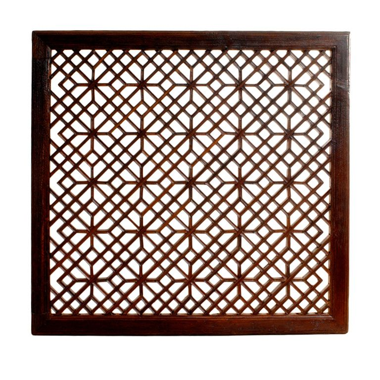 Fretwork Lights And Patterns Chinese Furniture Wall