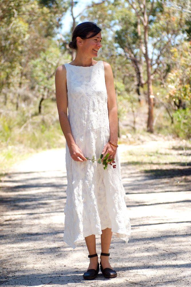 White wedding nuno felt