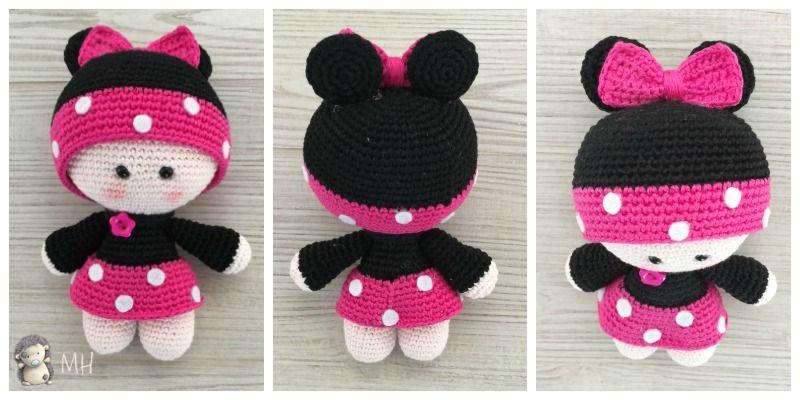 Patrón gratis para hacer una muñequita YoYo a Crochet con disfraz de ...