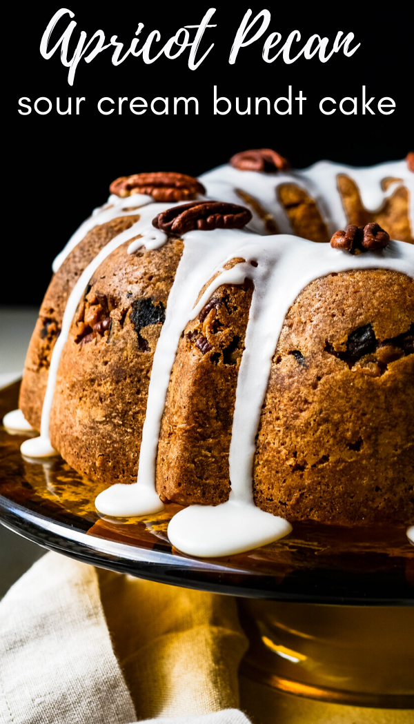 Sour Cream Bundt Cake With Spiced Apricot Pecan Filling Recipe In 2020 Coffee Cake Recipes Sour Cream Coffee Cake Pecan Recipes