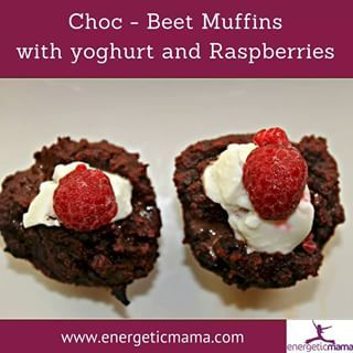 A chocolate fix with added veggies!  Gluten, grain and refined sugar free. My choc - beet muffins are so simple to make and super delicious!  You can find the recipe on my blog -link in profile.