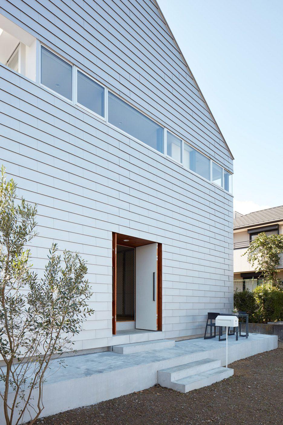 Basketball Court House by Koizumi Sekkei 建築デザイン, 家, ホームインテリア