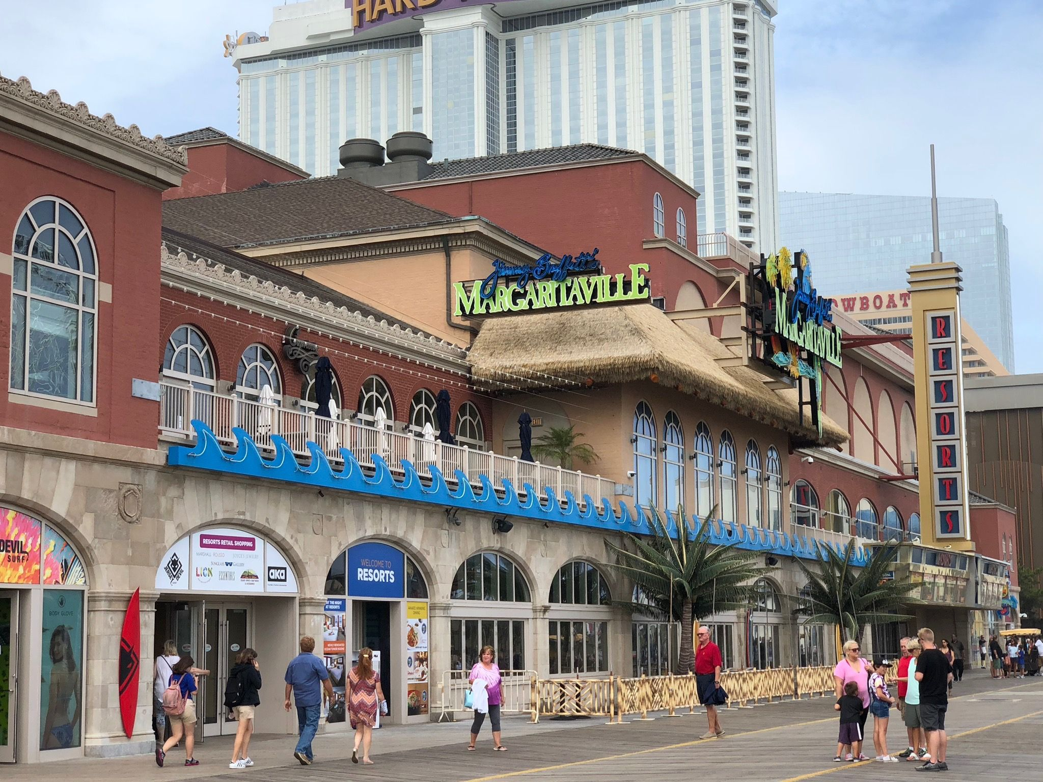 Margaritaville Restaurant Resorts Casino Hotel Atlantic City New Jersey Casino Resort Casino Hotel Atlantic City