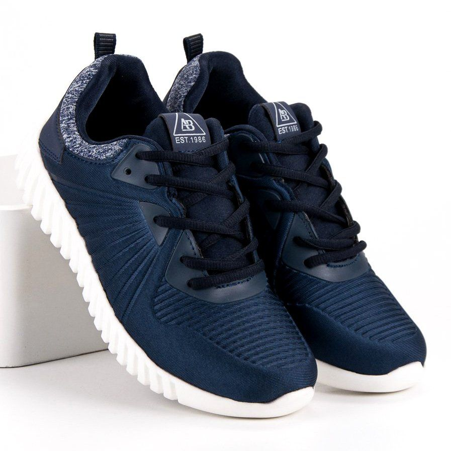 Trampki Damskie Axboxing Ax Boxing Niebieskie Modne Buty Na Trening Adidas Tubular Adidas Sneakers Sneakers