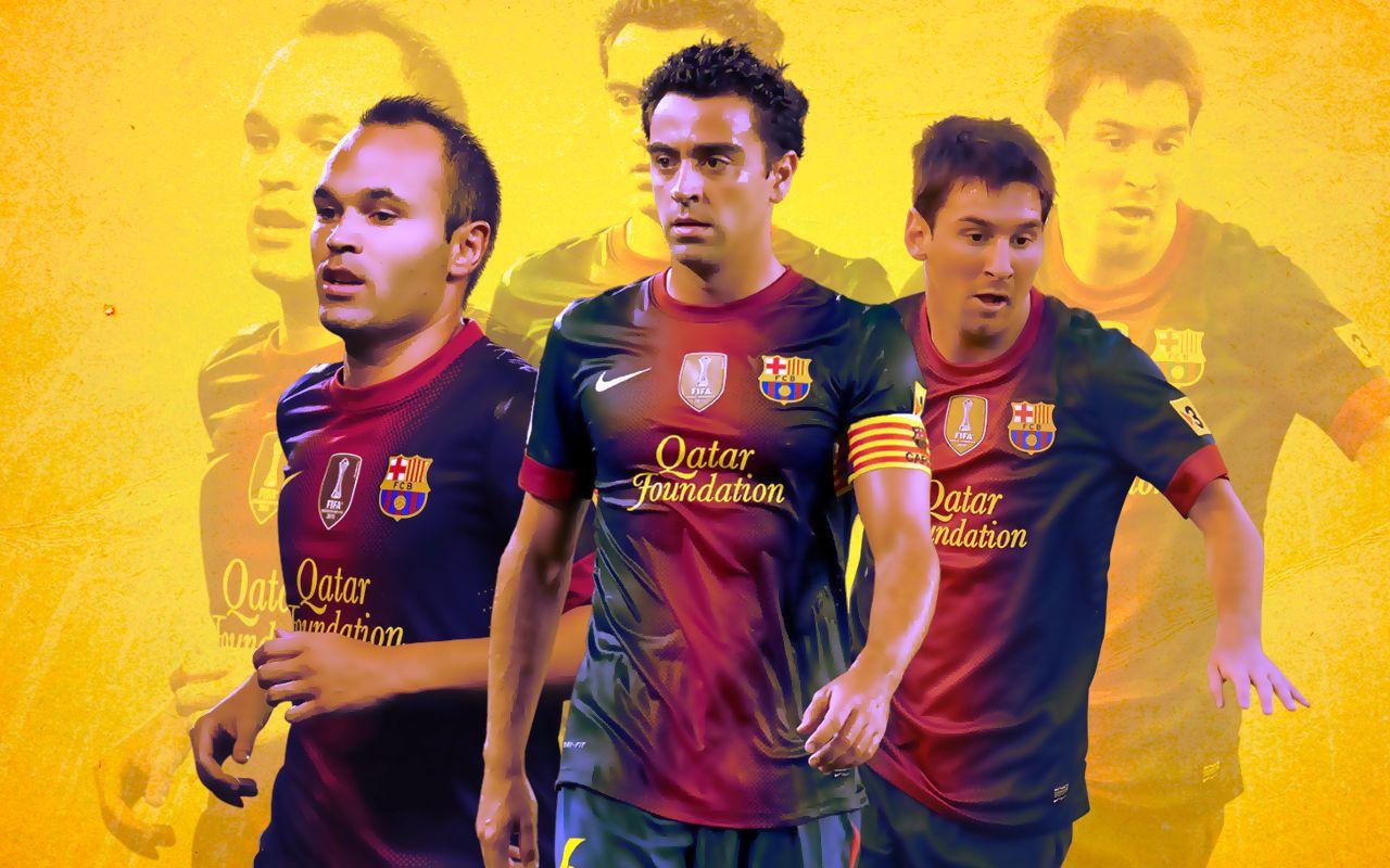 Iniesta xavi messi of barcelona 2013 hd wallpaper in desktop iniesta xavi messi of barcelona 2013 hd wallpaper in desktop voltagebd Image collections