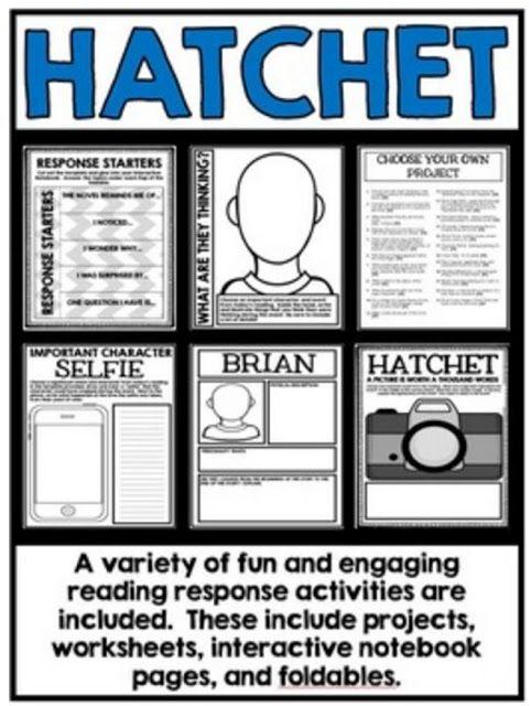 Exploring Gary Paulsen S Hatchet Hatchet Novel Study Hatchet Novel Hatchet Book Study