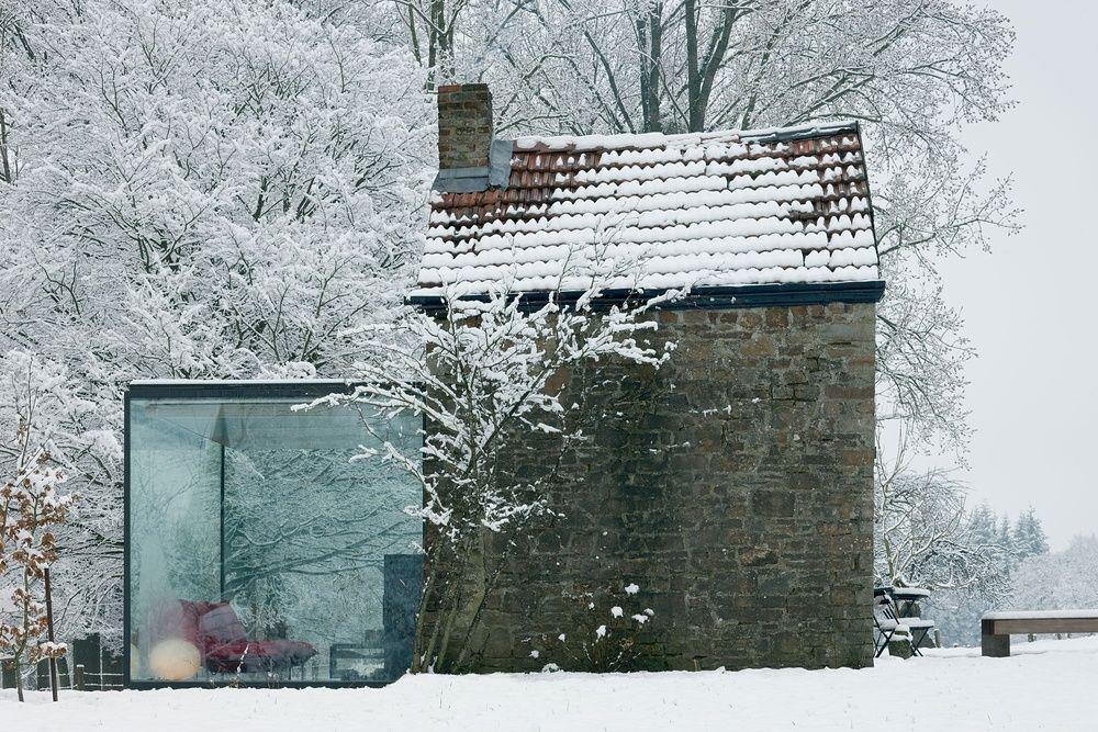 Anbau aus Glas - So könnte es an einem Altbau aussehen Retti - haus renovierung altgebaude