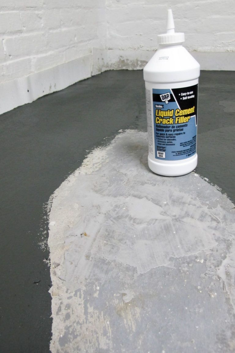 Nothing But Paint! Laundry Room Makeover: Painted Concrete ...