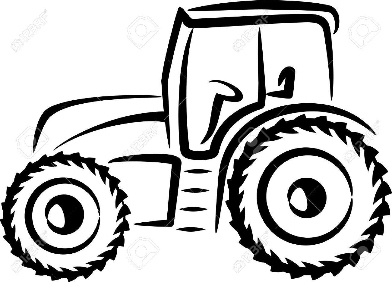 Image From Http Previews 123rf Com Images Maximmmmum Maximmmmum1105 Maximmmmum110500017 9507485 Simple Illustration With A Tractor S Traktor Silhouette Felix