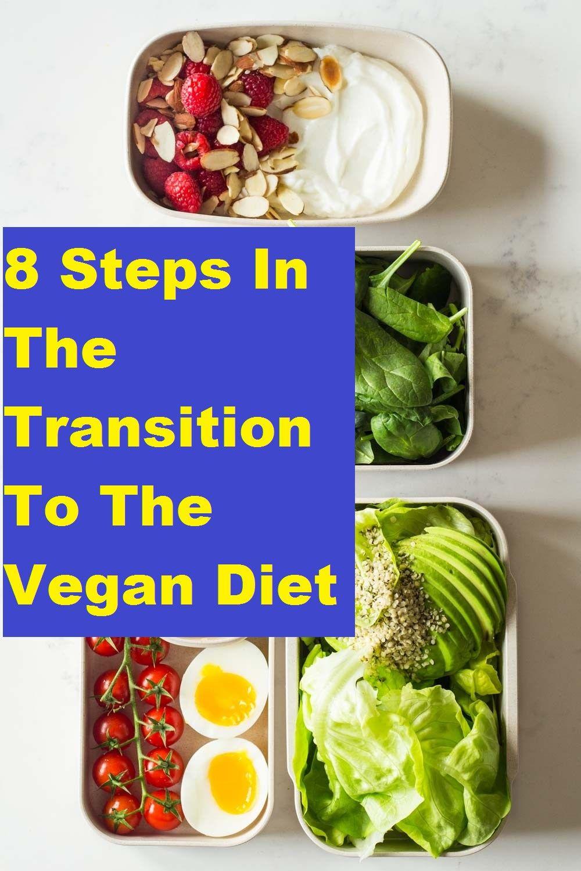 8 Steps In The Transition To The Vegan Diet Diet Zone Diet Diet Journal
