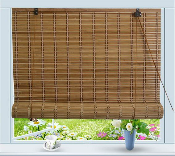 Bamboo Roll Up Window Blind Sun Shade W36 Bamboo Curtains Bamboo Blinds Outdoor Curtains