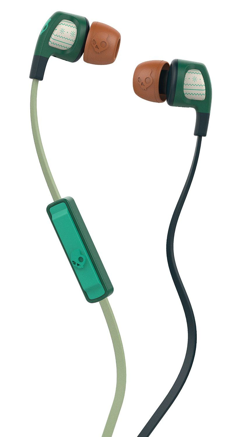 06c77970f07 Amazon.com: Skullcandy Smokin Buds 2 Explorer/Forest/Green In-ear ...