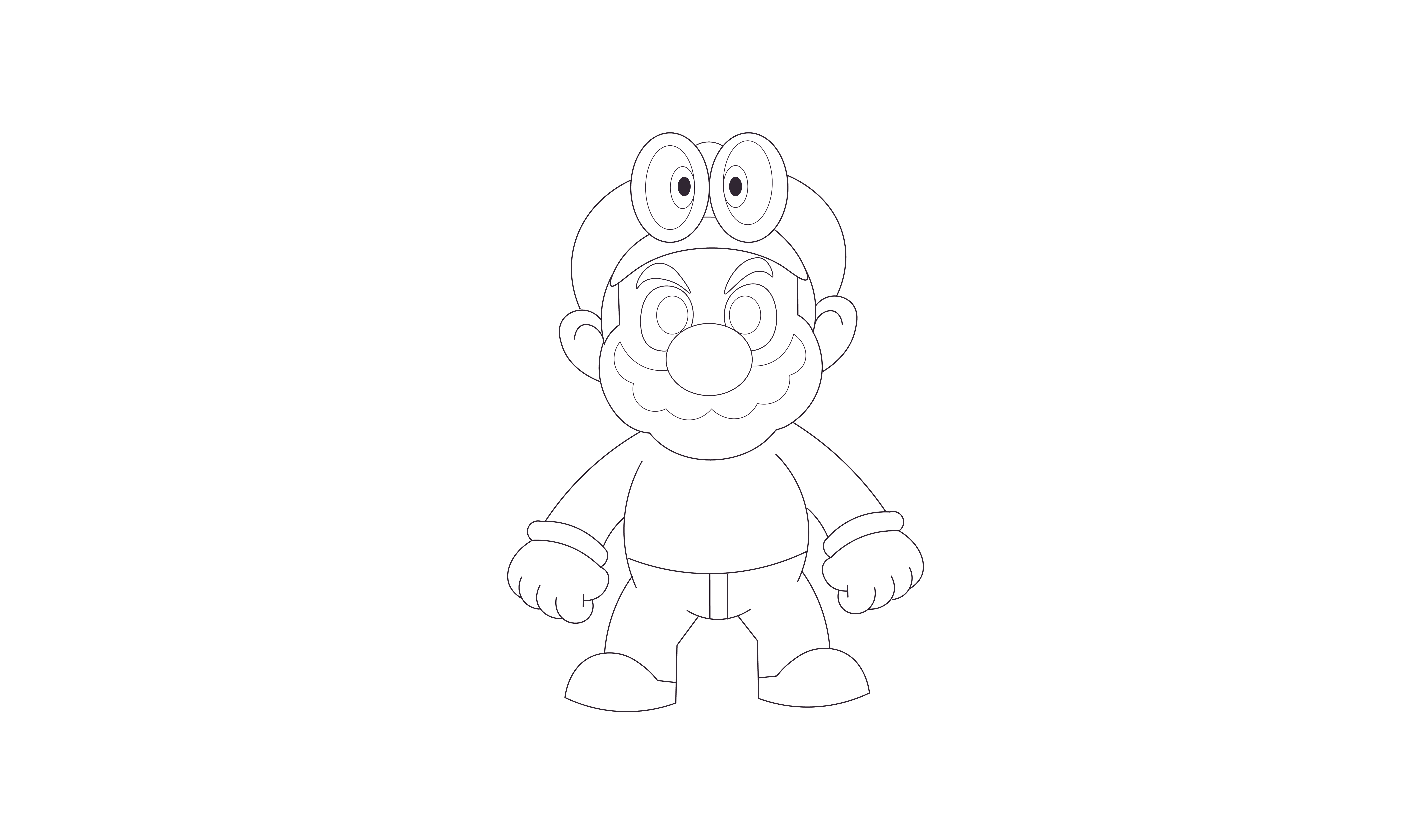 Pin by Shawn Howto on How To Draw Super Mario Odyssey ...