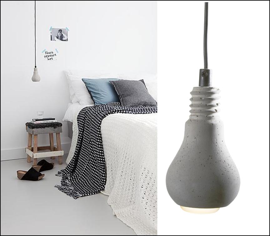 hanglamp peertje beton l i g h t pinterest hanglamp