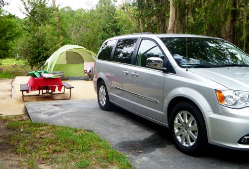 Camping With The Chrysler Town Country Chrysler Town Country