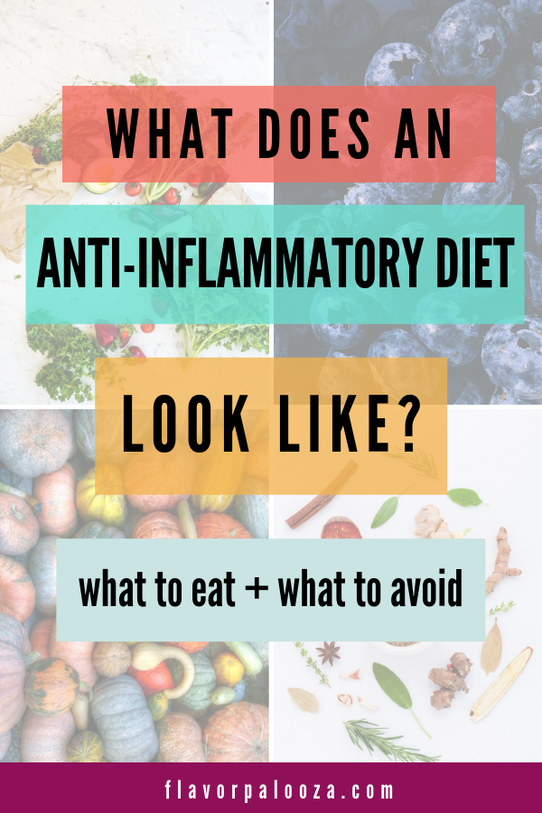 What to eat on an anti-inflammatory diet