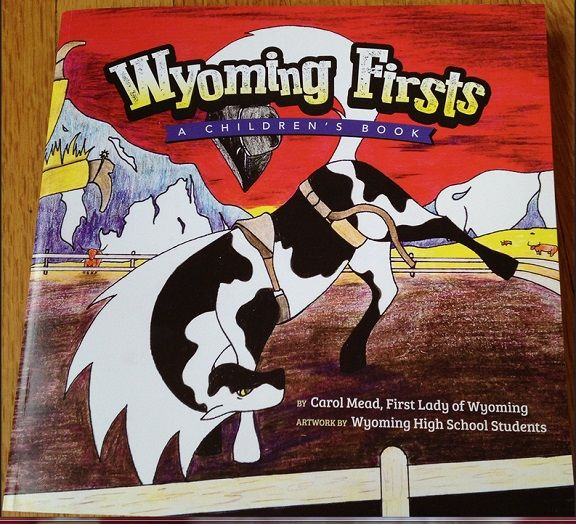 Find out more about Wyoming Firsts, in First Lady Carol Mead's new book.